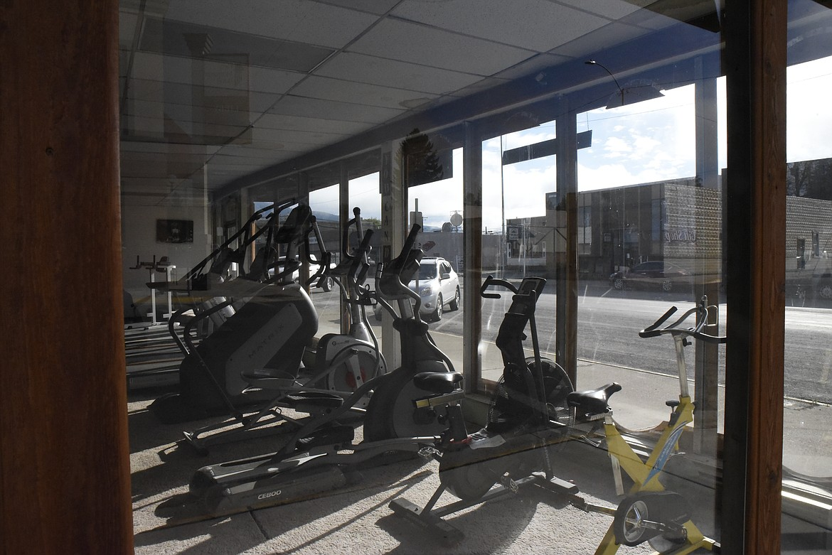 Vince Backen, owner of Libby Gym, is excited to reopen with the lifting of COVID-19 restrictions. During the shutdown, he lowered the heat at his Mineral Avenue location to save money. (Derrick Perkins/The Western News)