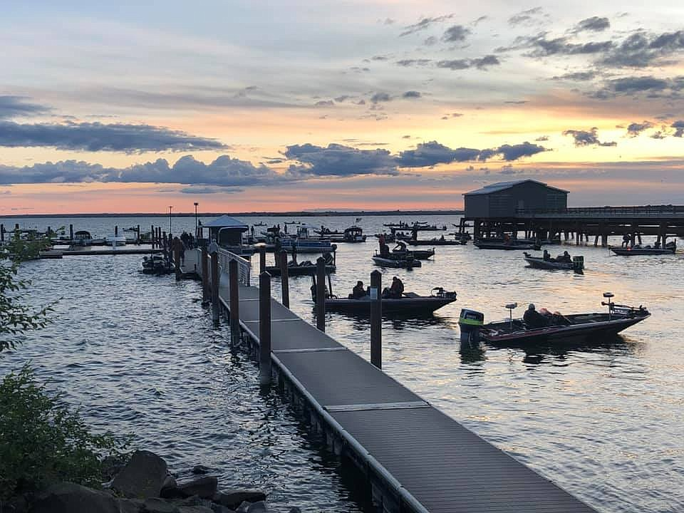 Northwest Bass kicked off its fishing tournament season with the first tournament this summer at Potholes Reservoir on Saturday and Sunday.