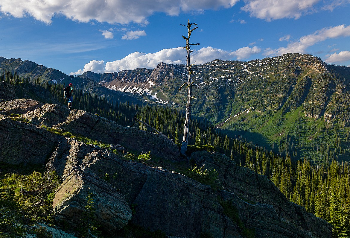 The Jewel Basin is rugged country if you get off-trail.