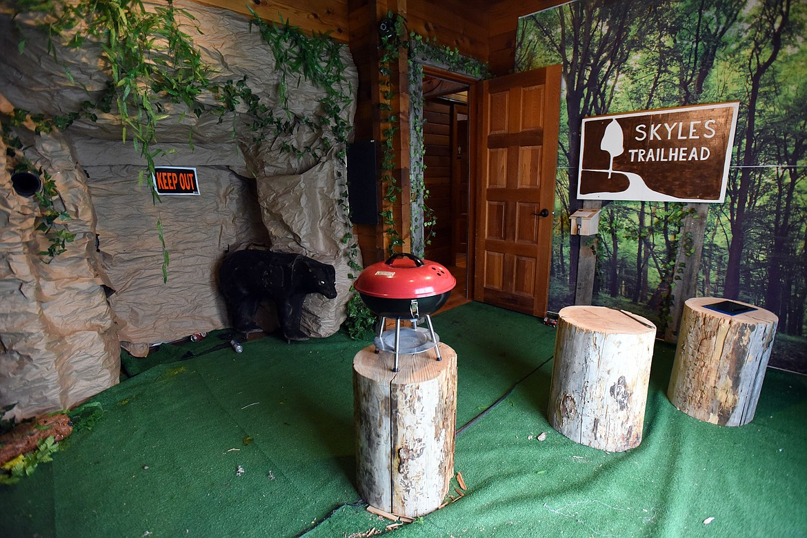The North Fork Cabin room at Hidden Key Escape Games in Whitefish. (Casey Kreider/Daily Inter Lake)