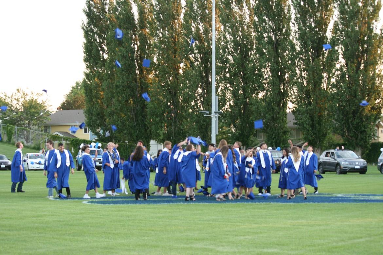 Cheryl Schweizer/Columbia Basin Herald   Warden High School celebrated its Class of 2020 graduates on Frid