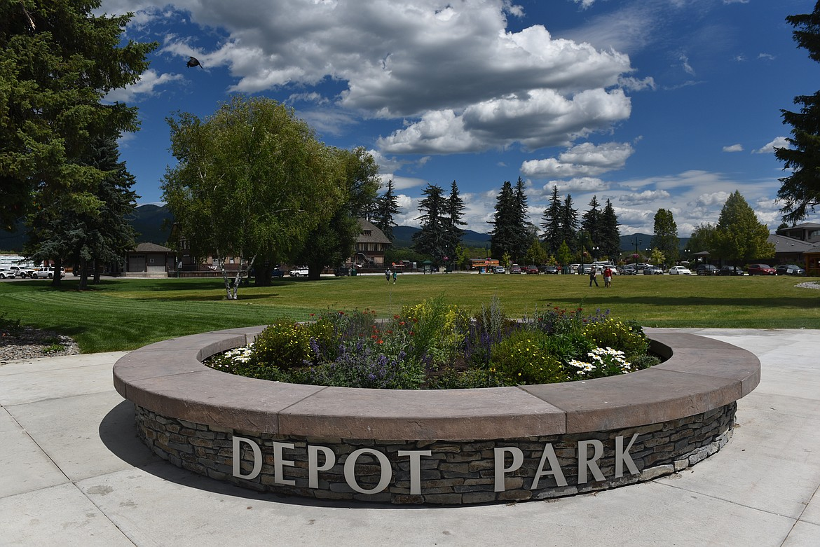 The City of Whitefish recently completed a multi-phase project to reconstruct Depot Park in downtown. The cost of improvements totaled about $2.7 million and was paid for by tax increment finance funds. The park plays hosts to about 10 major events and many smaller events throughout the year. (Heidi Desch/Whitefish Pilot)
