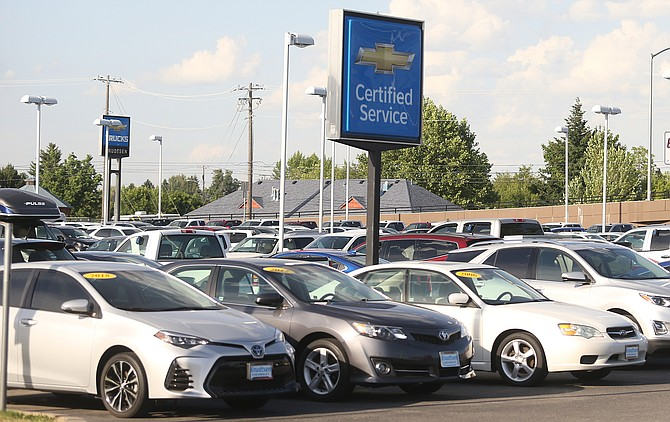 Aside from Chevy trucks, Knudtsen Chevrolet also offers a wide variety of certified used cars.