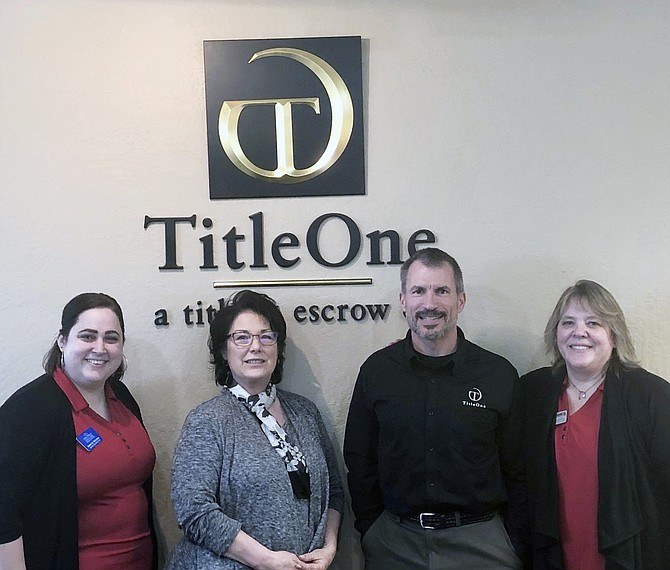 Courtesy photo   Post Falls Chamber of Commerce Business Appreciation Group: Title One Corporation