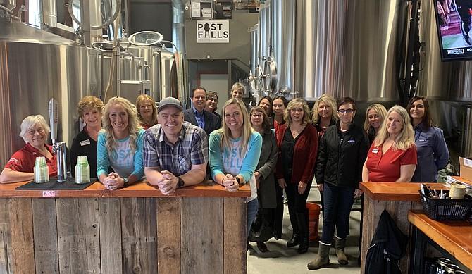Post Falls Chamber Ambassadors Business Appreciation Group: Post Falls Brewing Company