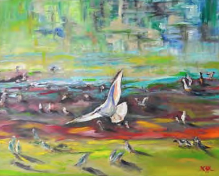 """Flight"" by Christina Oss Labang (Courtesy City of Coeur d'Alene)"