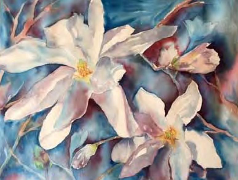"""""""Magnolias"""" by Eliza Nicholson"""
