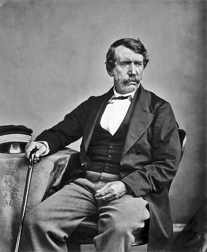 British missionary and explorer Dr. David Livingstone (1813-1873).