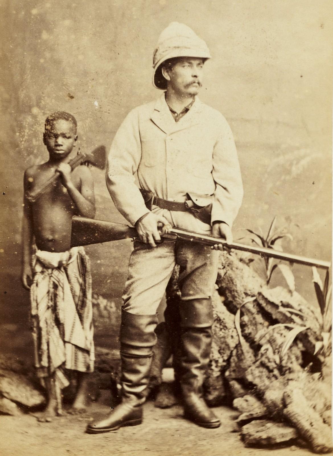 SMITHSONIAN LIBRARIES   Carte-de-visite of Henry Morton Stanley (1841-1904), photo 1872.