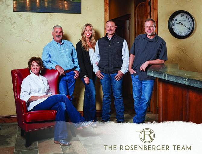 From left, Shelley Rosenberger, Ron Rosenberger, Breana Rosenberger, Blake Rosenberger and Tom Dickson.