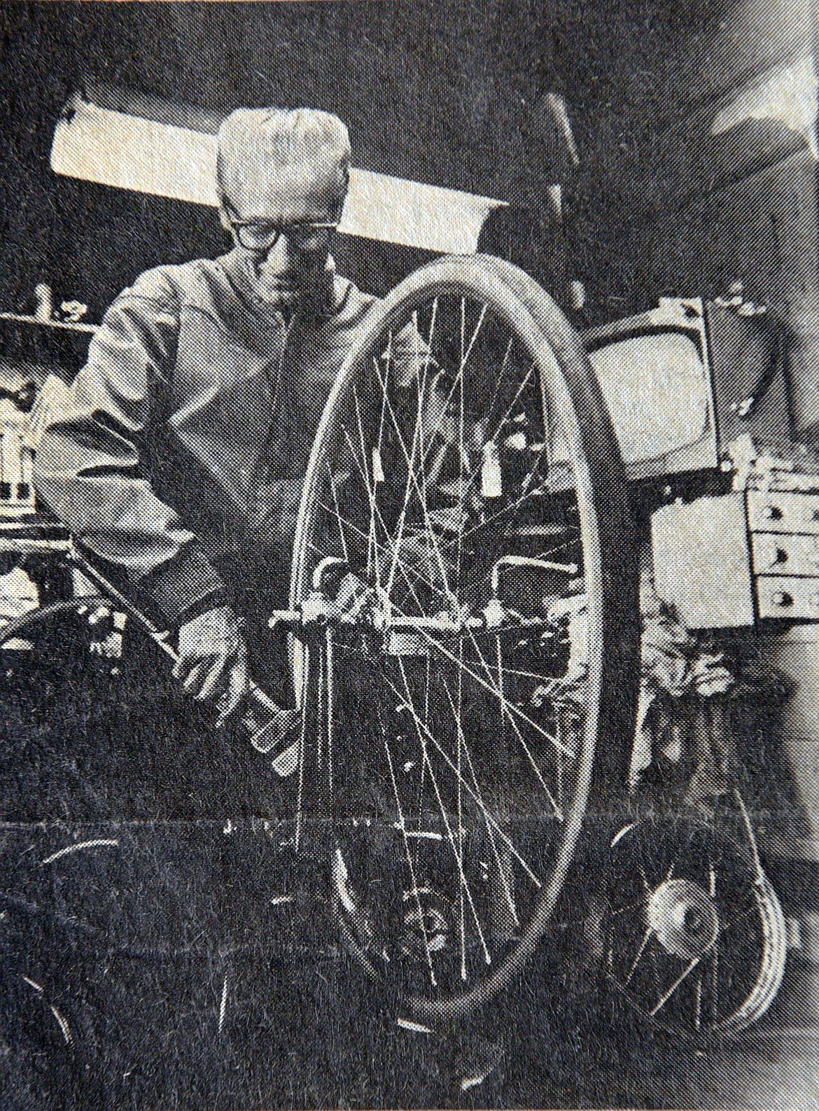 Bernard Wheaton won national awards for his knowledge and performance in the peddling business. (Photo provided)