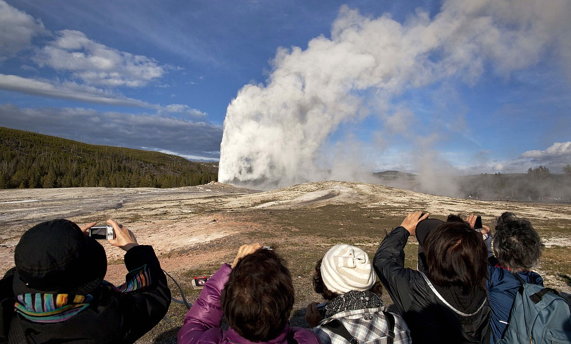 On Tuesday the National Park Service announced that Yellowstone and Grand Teton National Parks would be closed until further notice, and no visitor access will be permitted to either park.(AP Photo/Julie Jacobson, File)