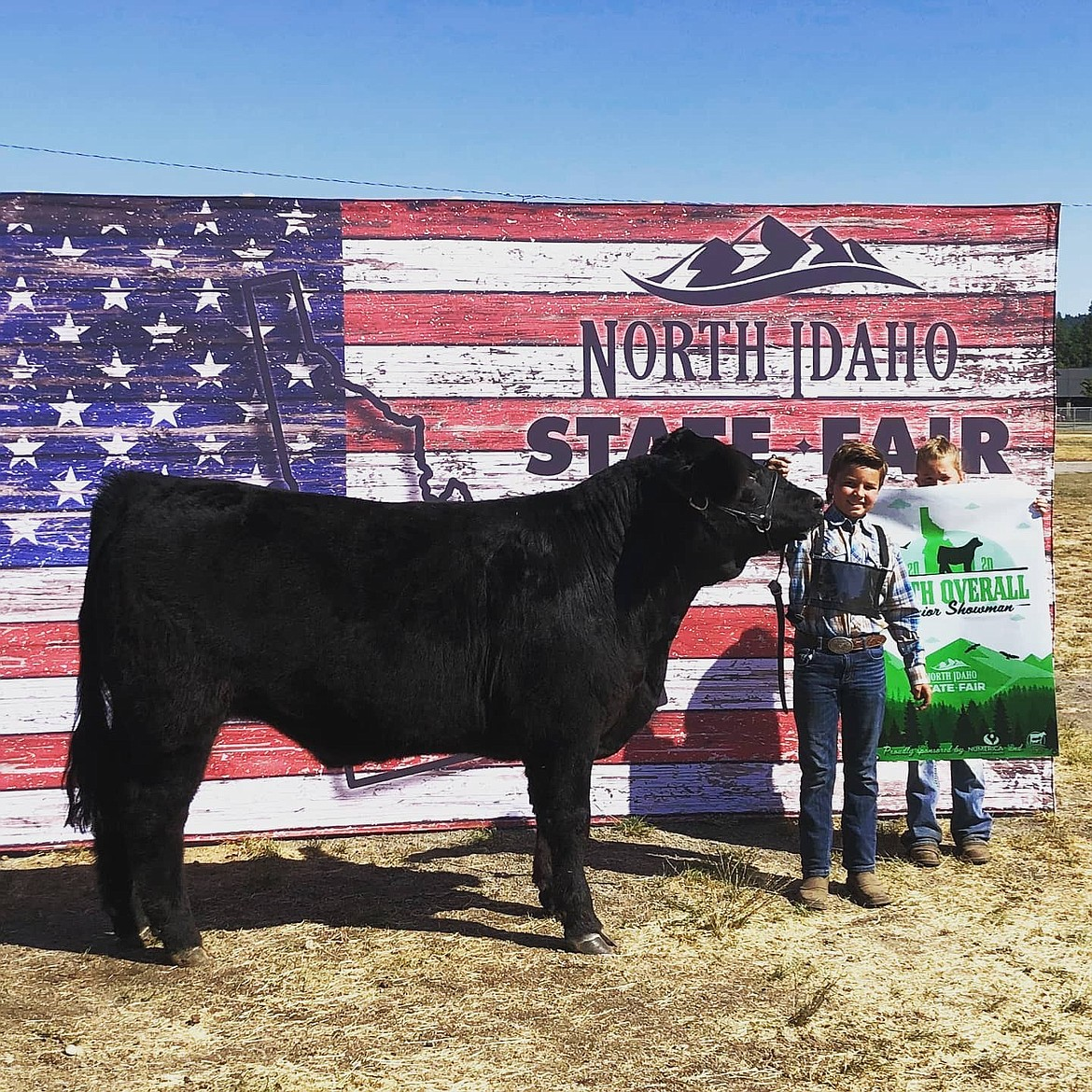 Colton Storey, 5th place overall Jr. Showman.