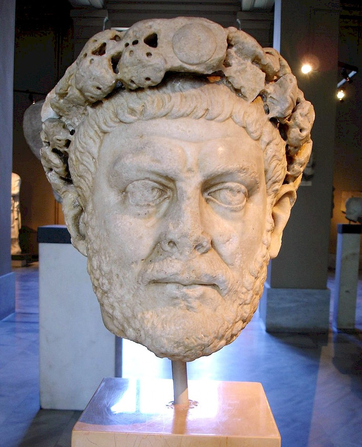 Roman Emperor Diocletian was one of the cruelest persecutors of Christians, with many martyrs buried in Rome's catacombs.