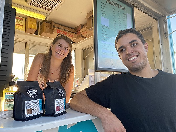 Carsen and Jarvis Abbott bring their moxie up to Coeur d'Alene in their drive-thru location on Sunset Avenue and U.S. 95.