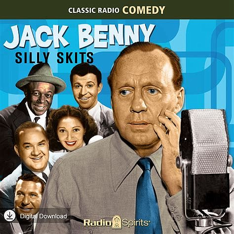 Jack Benny was a hit on both radio and television, his career lasting 63 years.