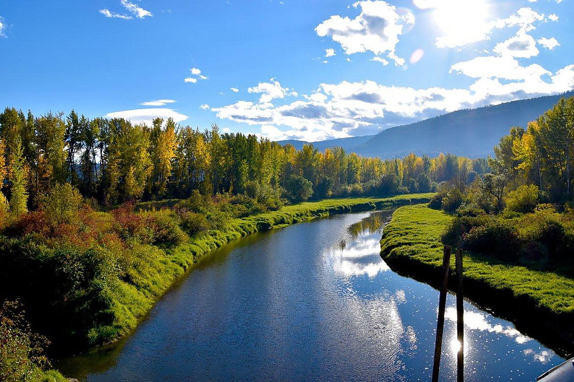 """During a recent """"adventure drive,"""" Robert Kalberg captured this picture from the Deep Creek Bridge."""