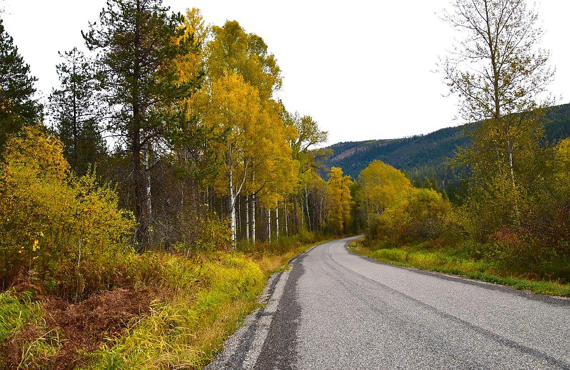 """Robert Kalberg captured this photo of the area's fall beauty during a recent """"adventure drive."""""""
