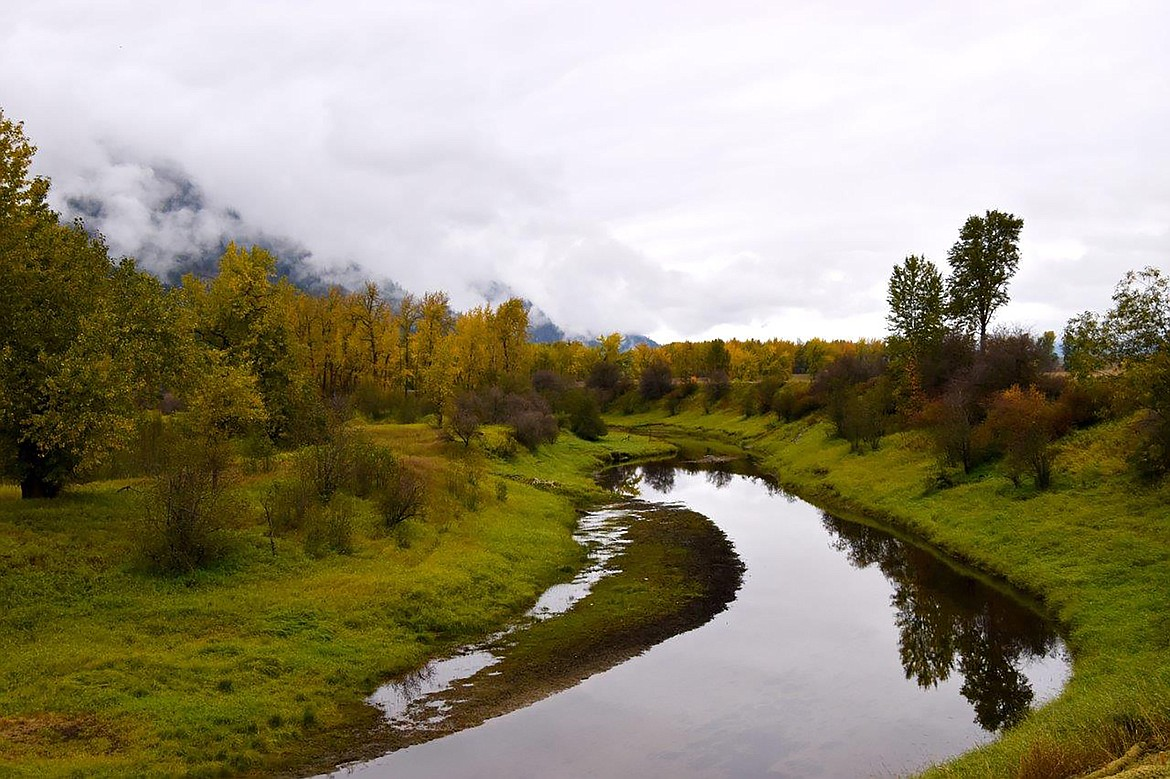 """During a recent """"adventure drive,"""" Robert Kalberg captured this photo at the Kootenai National Wildlife Refuge of the community's stunning autumn beauty."""