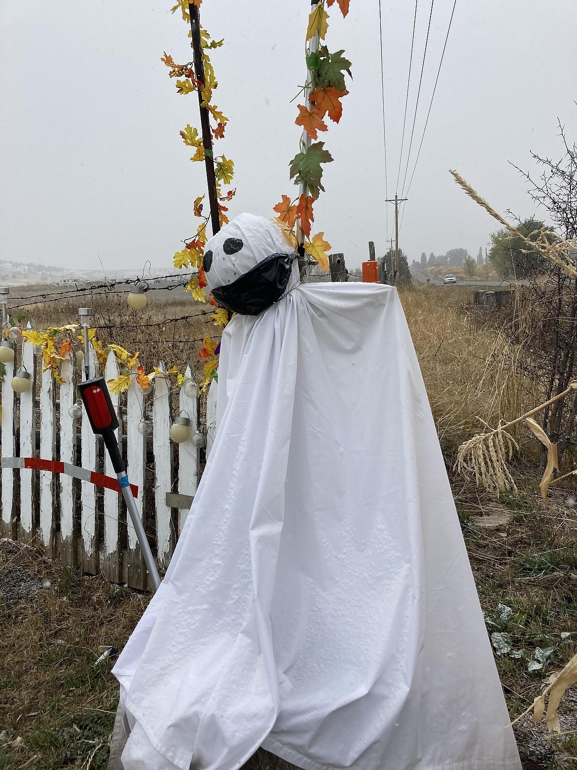 A ghost of St. Ignatius. (Carolyn Hidy/Lake County Leader)
