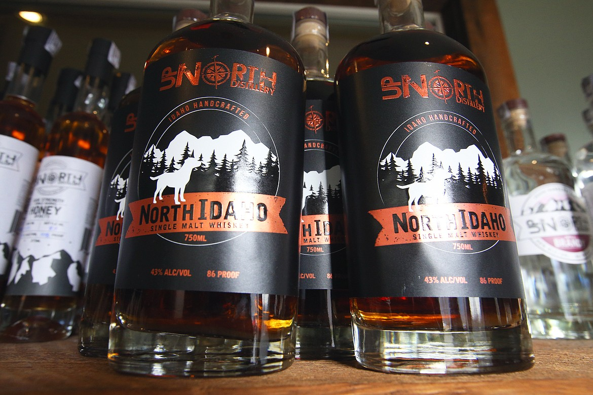 Up North Distillery recently released its first whiskey, North Idaho Single Malt Whiskey.