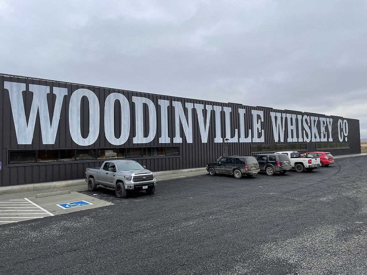One of Woodinville Whiskey Co.'s Quincy warehouses.