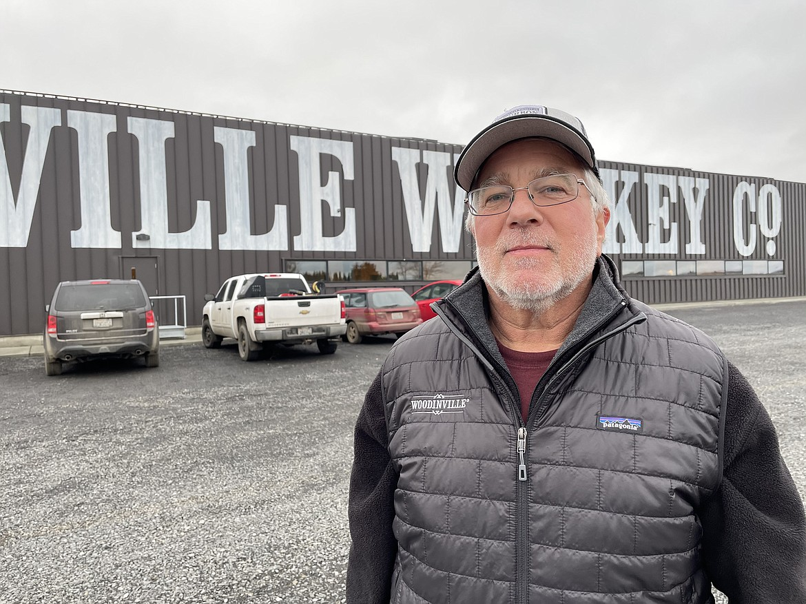 Quincy-area farmer Arnie Omlin grows rye and corn for Woodinville Whiskey Co.