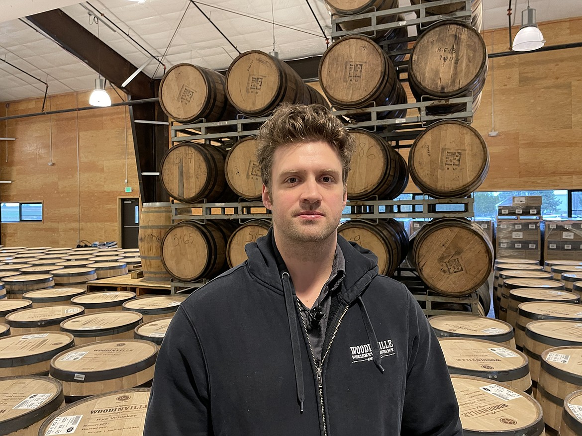 Jim Bailey, general manager of Woodinville Whiskey Co.'s Quincy facilities, where the company barrels, ages and bottles the whiskey it distills in Woodinville.
