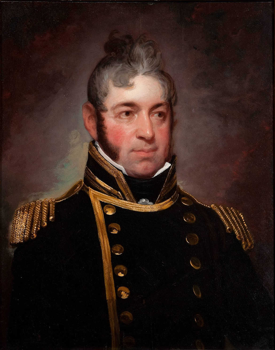 U.S. Navy Commodore Edward Preble (1761-1607), commander of first American fleet to fight back against the Barbary pirates in the First Barbary War (1801-1805).