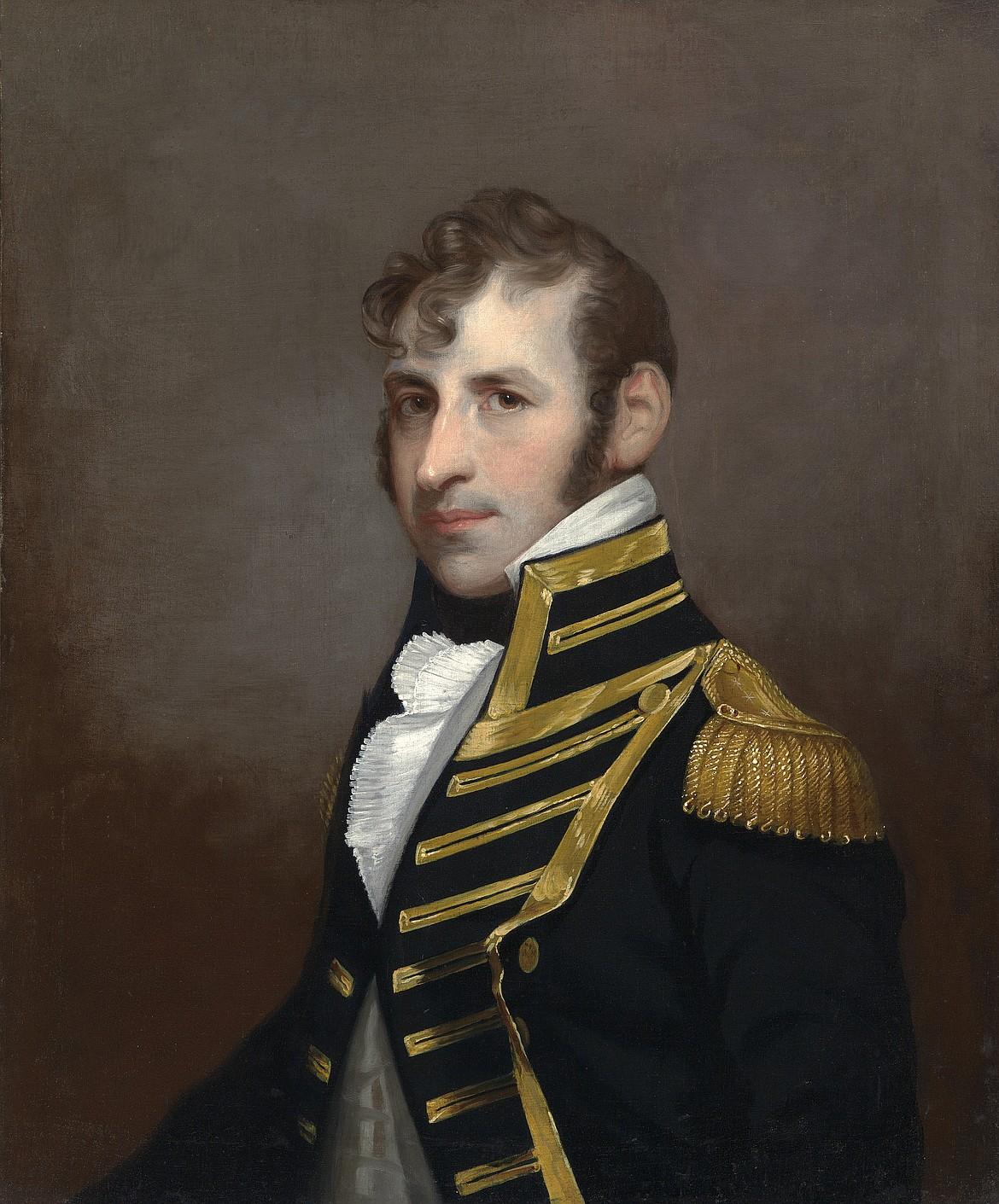 Painting by Charles Bird King (1785-1862) of U.S. Navy hero Stephen Decatur Jr. (1779-1820).
