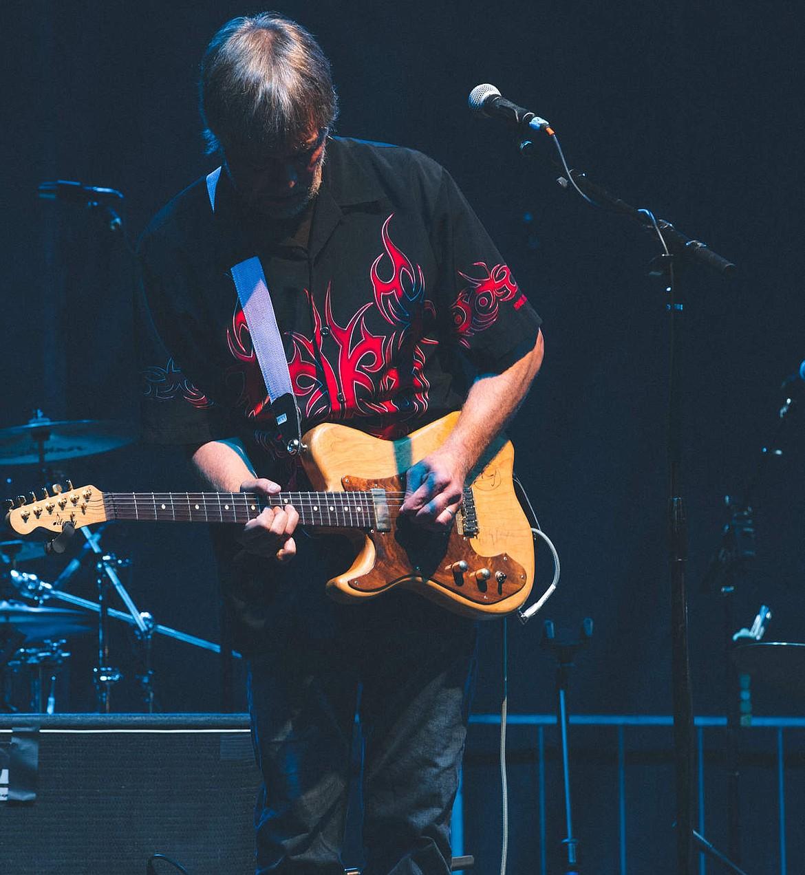 Ken Sederdahl — lead guitarist, vocalist and lyricist for the Kenny James Miller Band