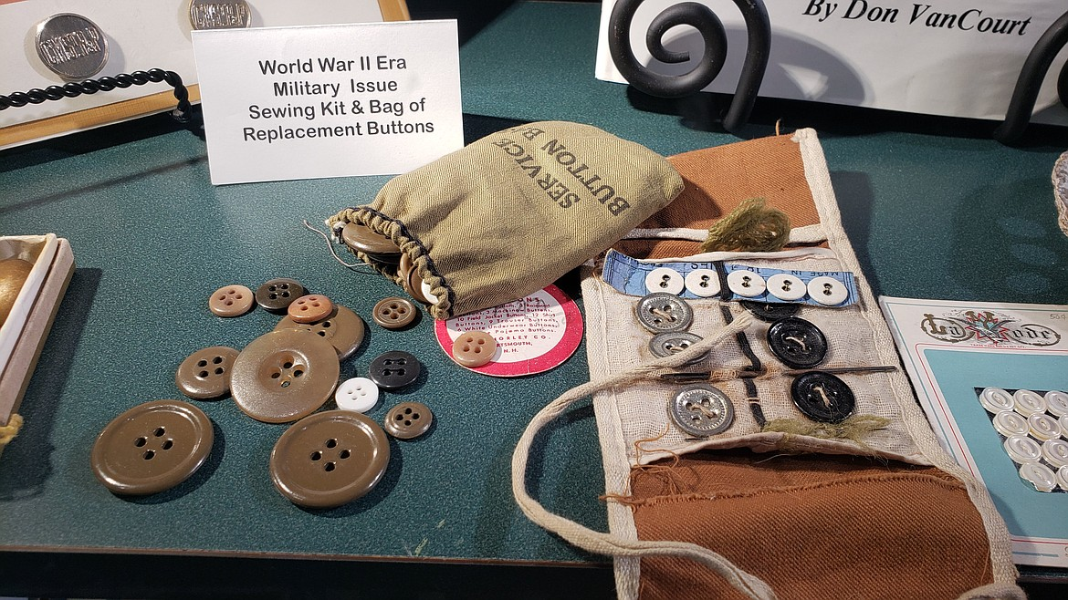 The Historical Button Club of Northern Idaho is offering their educational programming via Zoom. Courtesy photo.