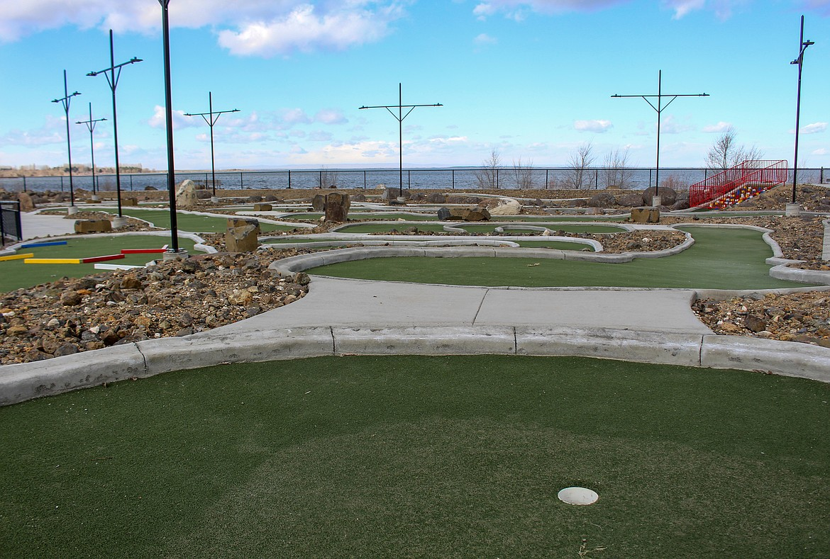 The new miniature golf course at MarDon Resort off state Route 262 will be open to the public and resort guests on April 2.