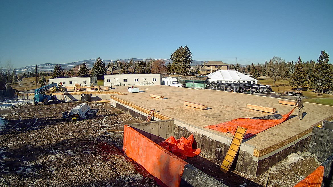 The Eagle Bend Golf Club clubhouse is pictured March 4. Courtest Michael Roberts