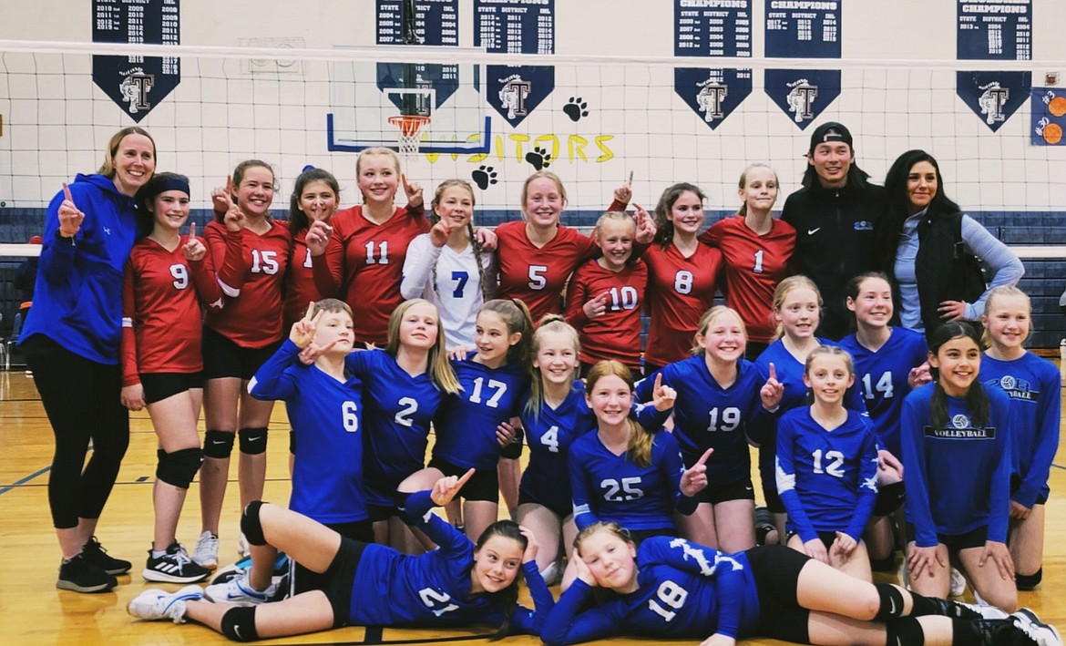 The U11 and U12 teams of the 208 Volleyball Club recently won the Pandemic at the Net volleyball tournament in Spirit Lake. Local girls Jordyn Stutzke, Paige Yrjana and Ella Yrjana are members of the traveling teams.