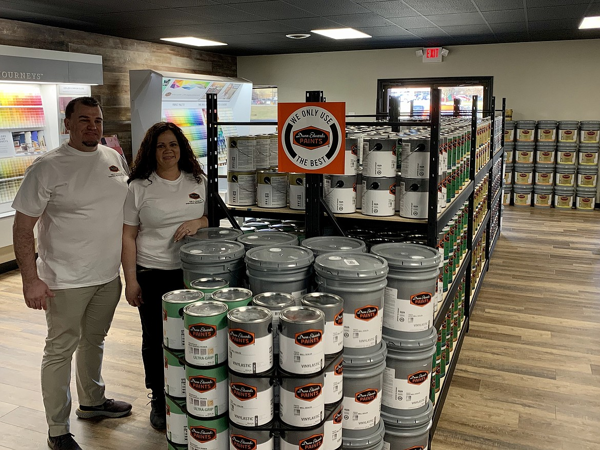 Courtesy photo Jeremie and Briel Prock of Prock's Paint Bucket, located in Sunset Village Shopping Center off U.S. 95 in Coeur d'Alene.