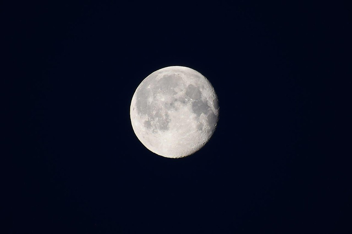 Local photographer Robert Kalberg captured this photo of a full moon in the Paradise Valley area recently.