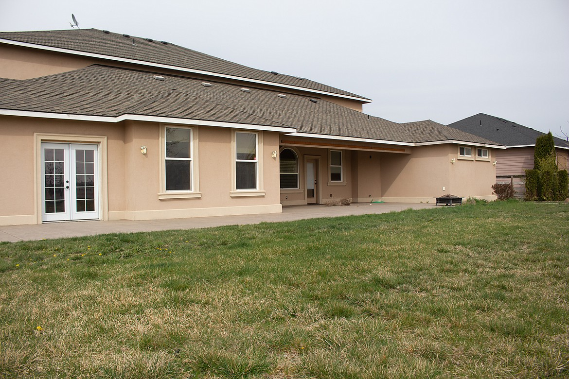 With stucco design and plenty of space in the open-floor plan inside, this home outside and just off Moses Lake on Wildgoose Road has a lot of the amenities and qualities home buyers are looking for now.