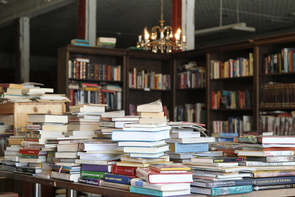 After visiting bookstores around the globe as a merchant sailor, Vince Backen opened a bookshop of his own earlier this month on California Avenue to offer a literary outlet to locals. (Will Langhorne/The Western News)
