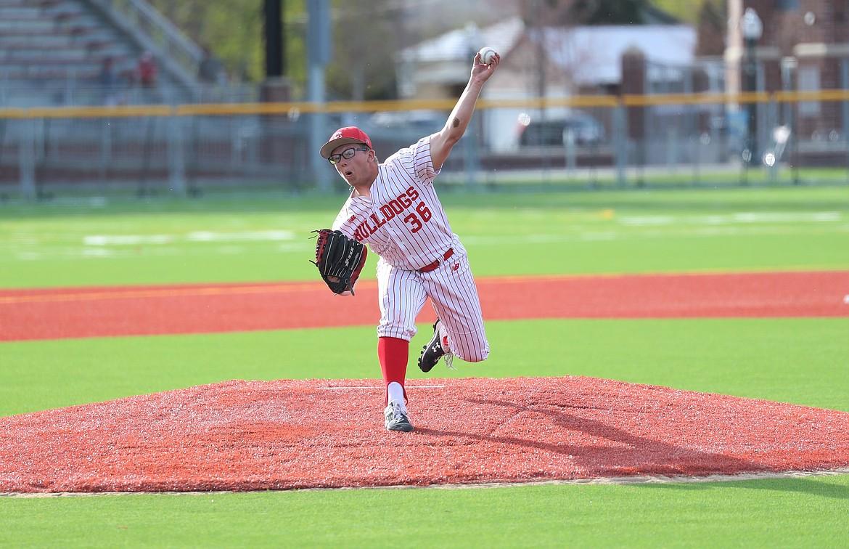 Blake Sherrill pitches on Thursday.