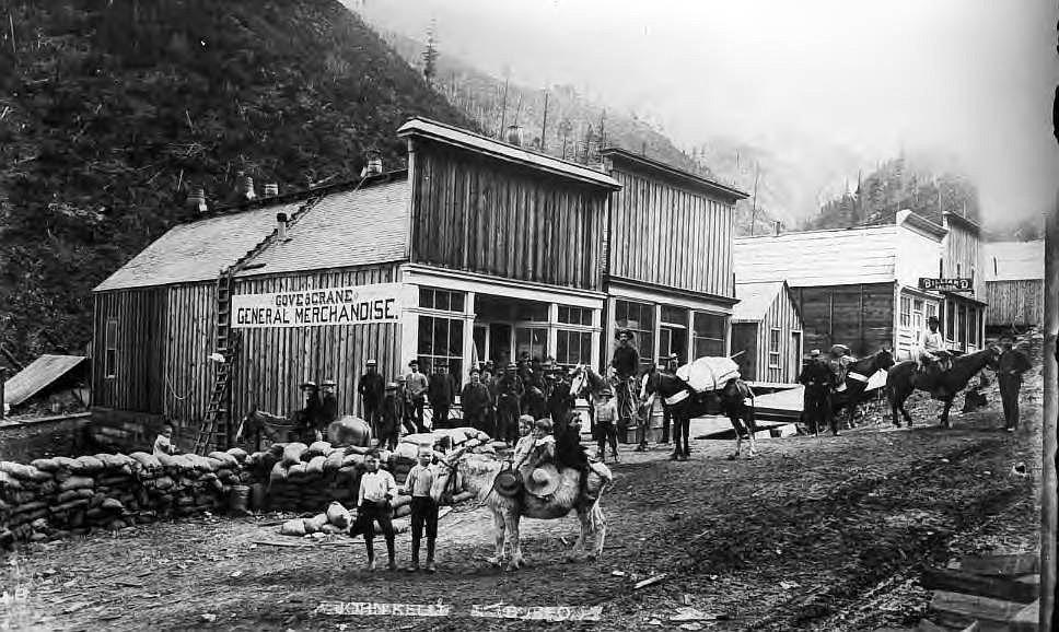 Wardner (Idaho) 1886