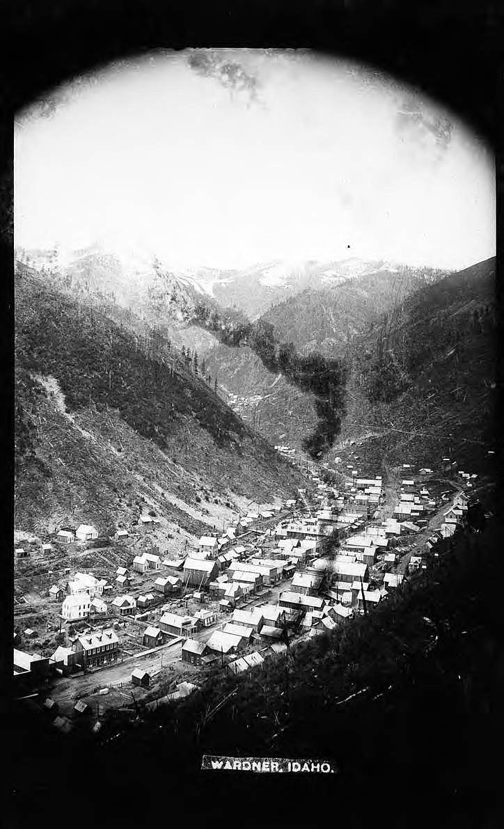Wardner (Idaho), 1890