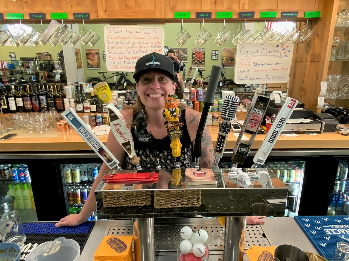 Afton Henderson is the owner of Brats & Brews in Spirit Lake.