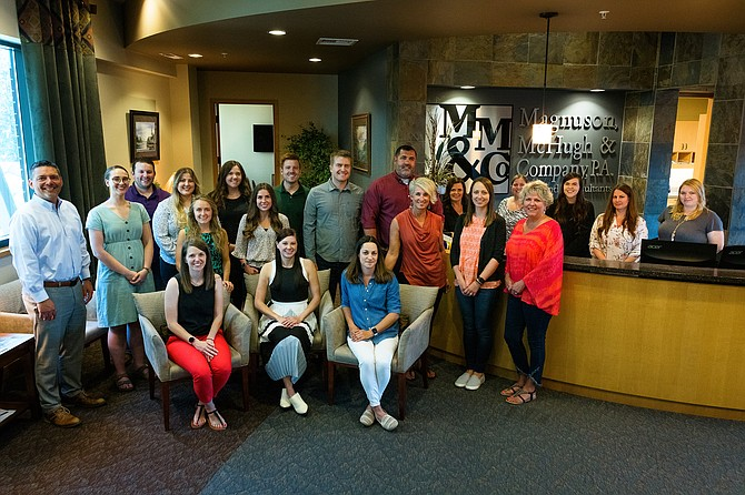The Coeur d'Alene-based accounting firm of Magnuson McHugh & Company P.A. is celebrating its 70th anniversary this year providing accounting services.