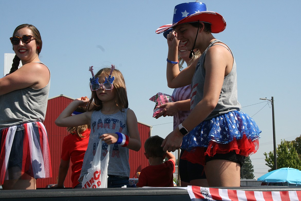 Participants put on their patriotic attire at the Independence Day parade July 3 in Othello.