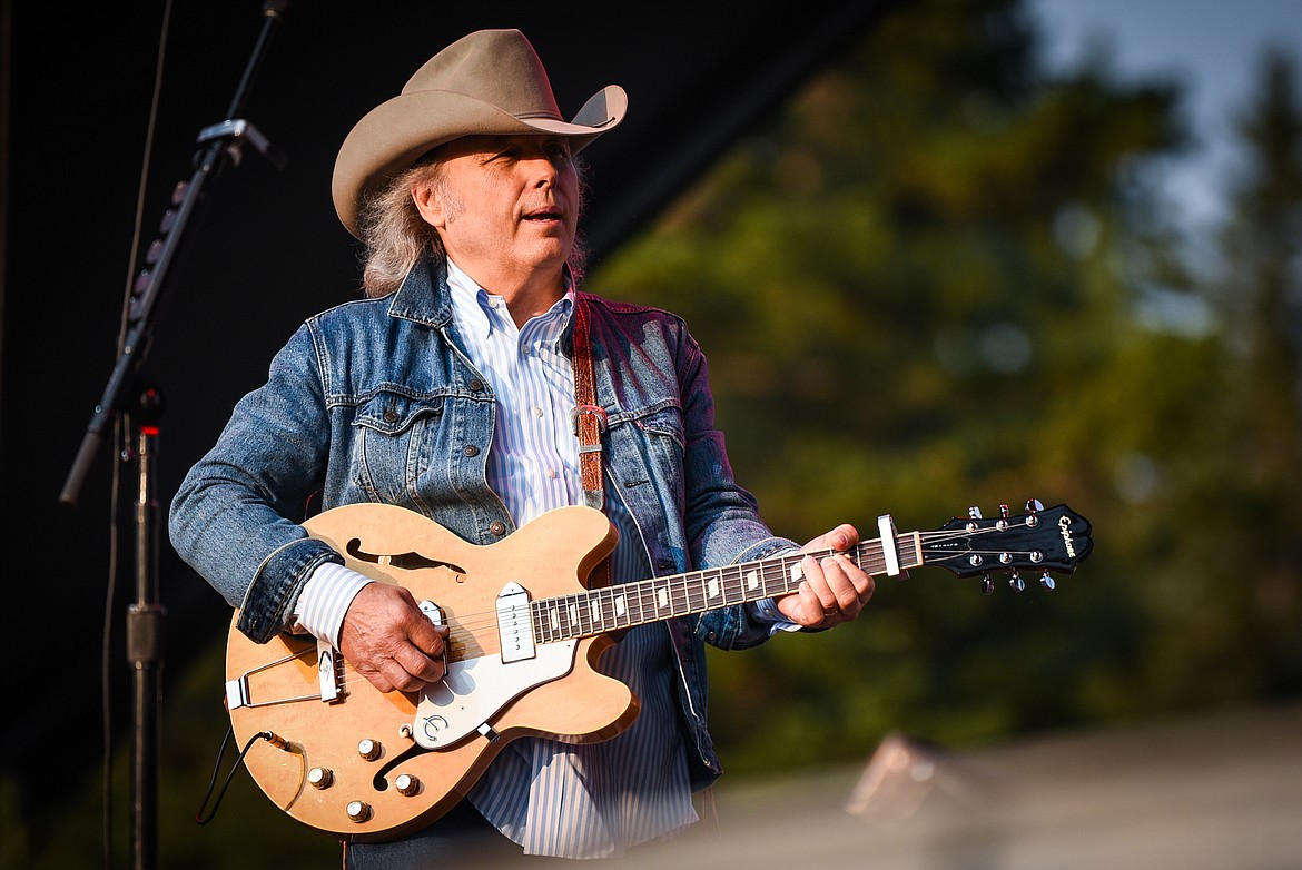 Dwight Yoakam performs on the Great Northern Stage at Under the Big Sky Festival in Whitefish on Friday, July 16. (Casey Kreider/Daily Inter Lake)