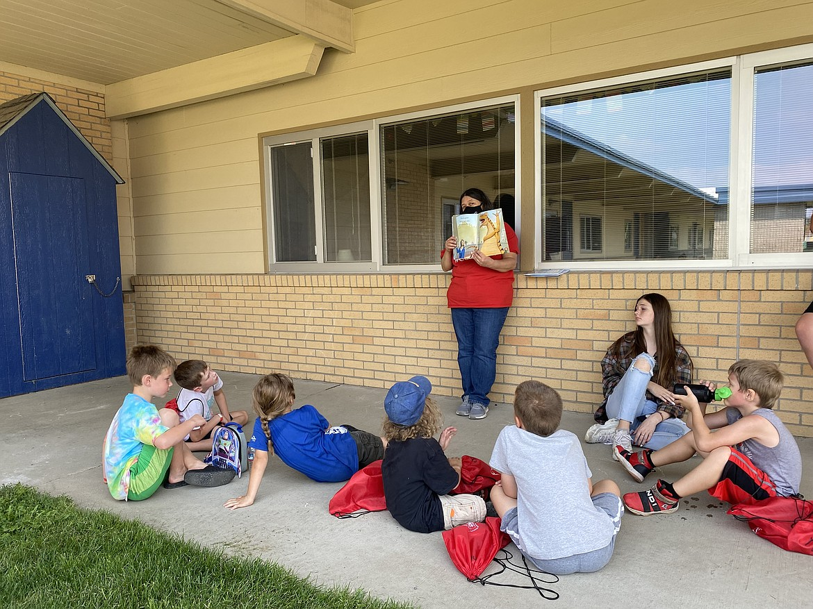 More than 800 Coeur d'Alene School District students were invited to participate in the summer CDA Reads program that concluded after seven weeks this Wednesday. (MADISON HARDY/Press)