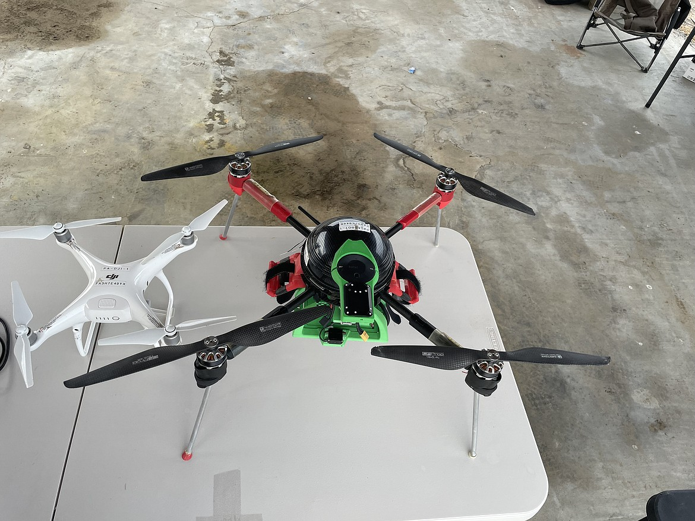 Drones for remote sensing.
