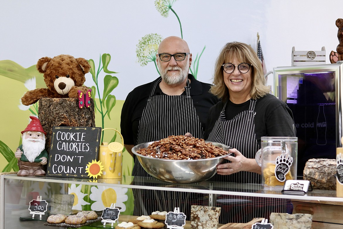 Ed and Lois Phillips opened their first Bear Paw Cookies shop in July 2019 on Main Street in The Village at Riverstone. Their third location is planned to open in around two weeks in the Silver Lake Mall.