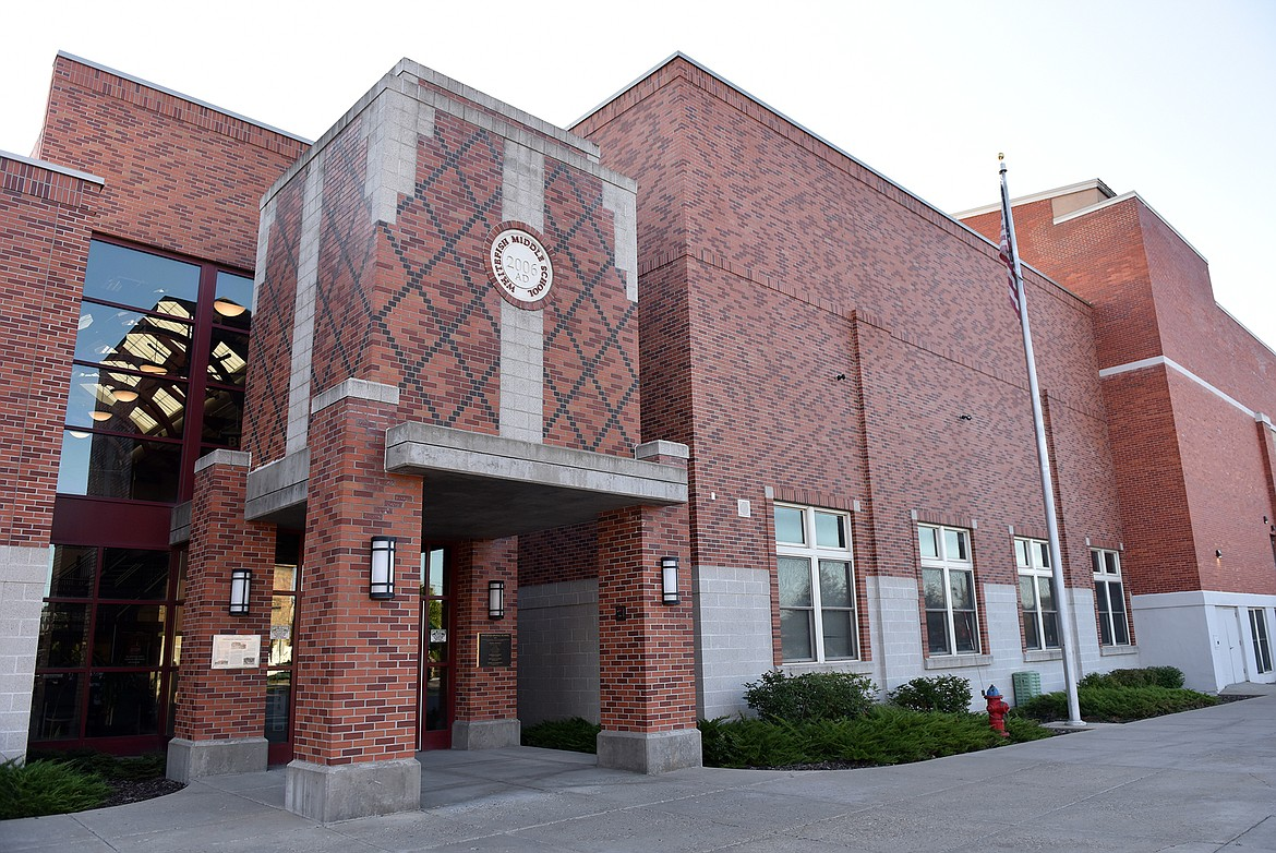 The Whitefish Middle School building houses grades fifth through eighth. (Pilot file)